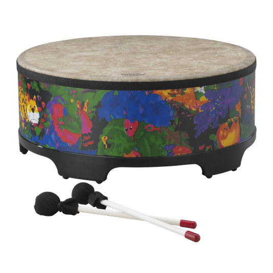 kids-percussion-gathering-drum-rain-forest